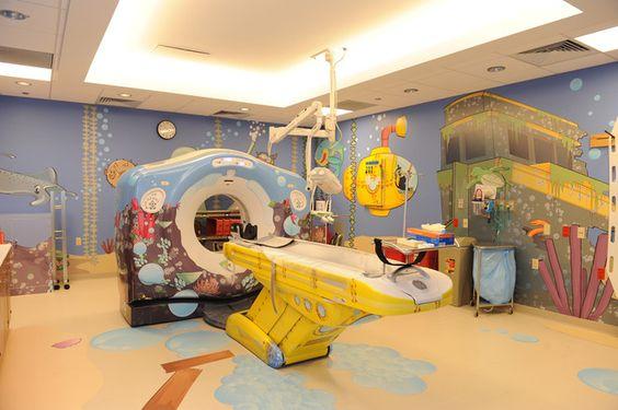 Yellow Submarine CT scanner found on pinterest