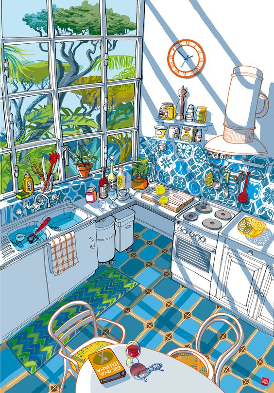 illustrator CARLO STANGA - found on MorganGaynin.com