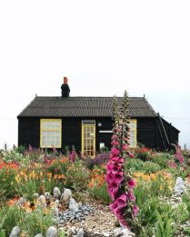 Derek Jarman's cottage. Dungeness, UK found on bourgeoisbohemianism.tumblr.com