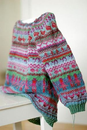 Pinneguri's Sweater No Chicken found on ravelry.com