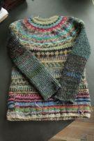 Icelandic style sweater found on Etsy shop Tasssha